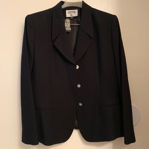 Black Dress jacket made in Philippines